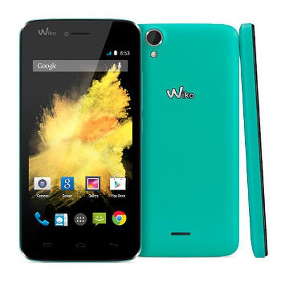 Smartphone et téléphone mobile Wiko Birdy - 4G (turquoise)