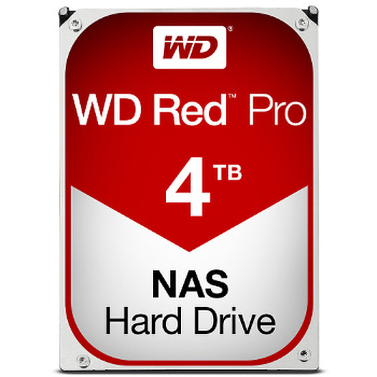 Disque dur interne Western Digital (WD) Red Pro - 4 To