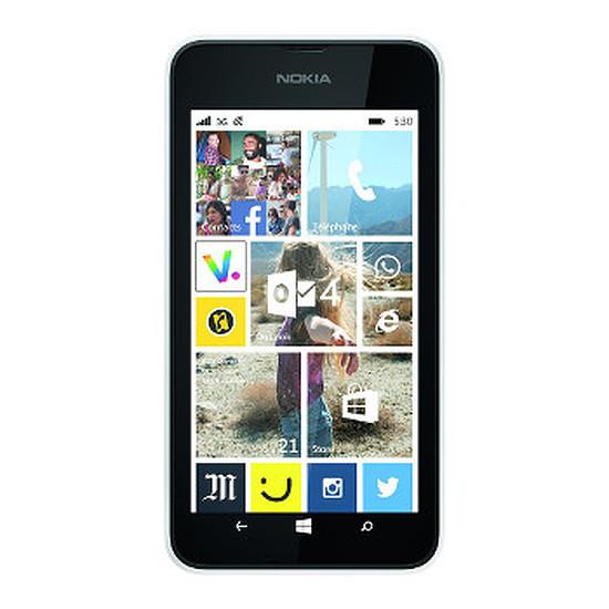 Smartphone et téléphone mobile Nokia Lumia 530 (blanc) - Double SIM