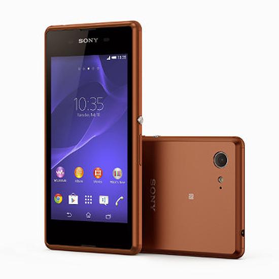 Smartphone et téléphone mobile Sony Mobile Xperia E3 (bronze)