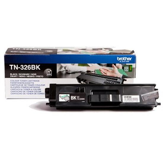Toner imprimante Brother TN-326Bk Noir