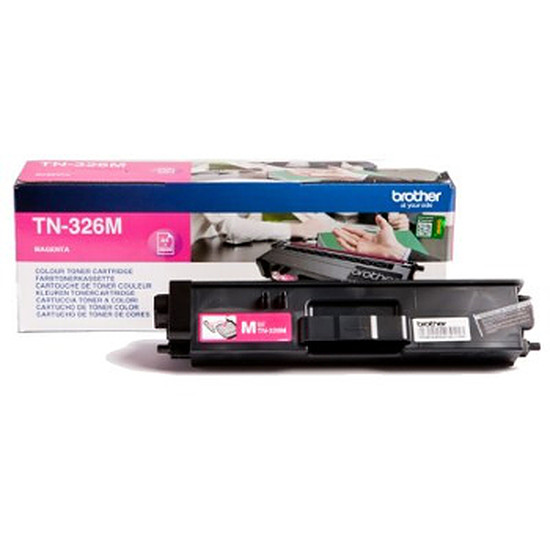 Toner imprimante Brother TN-326M Magenta