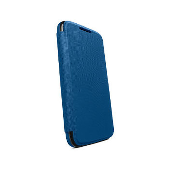 Coque et housse Motorola Etui Flip Cover (bleu) - Moto G