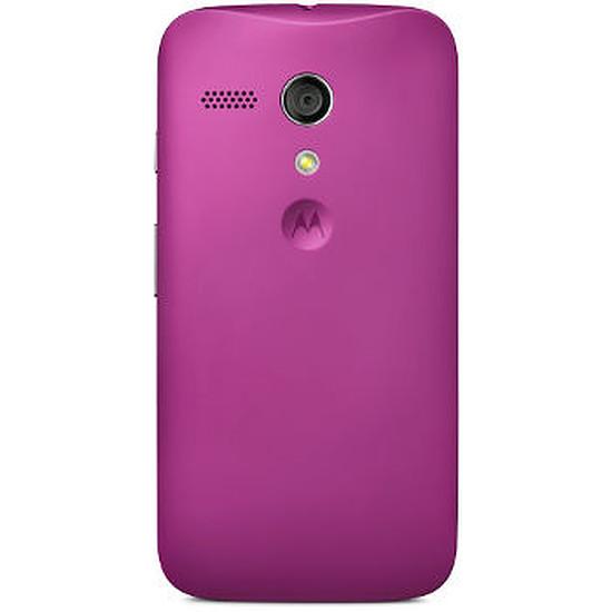 Coque et housse Motorola Coque color (violet) - Moto G