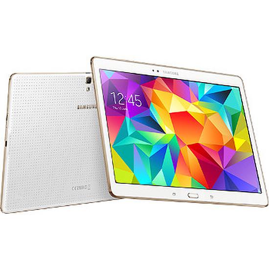 "Tablette Samsung Galaxy Tab S 10"" 4G (blanc)"