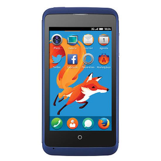 Smartphone et téléphone mobile ZTE Open C (bleu)