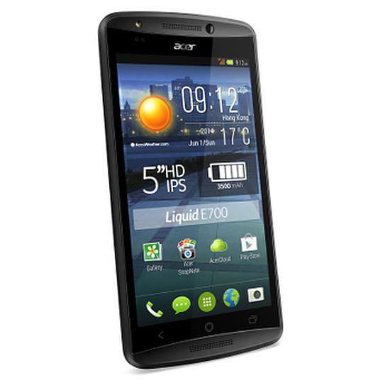Smartphone et téléphone mobile Acer Liquid E700 Trio (noir)