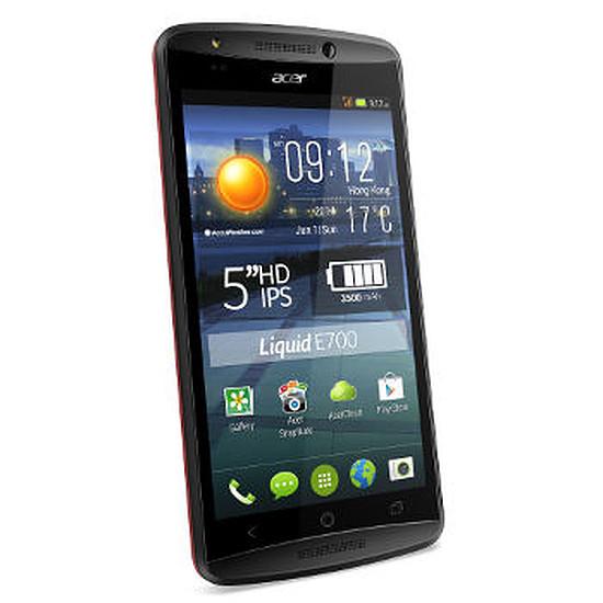 Smartphone et téléphone mobile Acer Liquid E700 Trio (rouge)