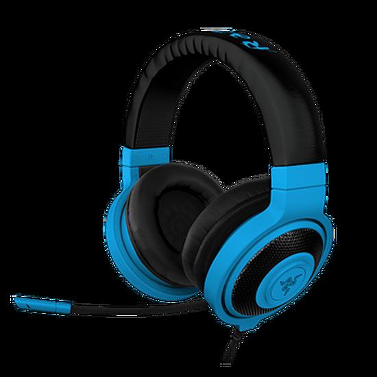 Casque micro Razer Kraken Pro Neon - Bleu