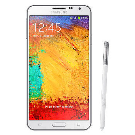 Smartphone et téléphone mobile Samsung Galaxy Note 3 Lite (blanc)