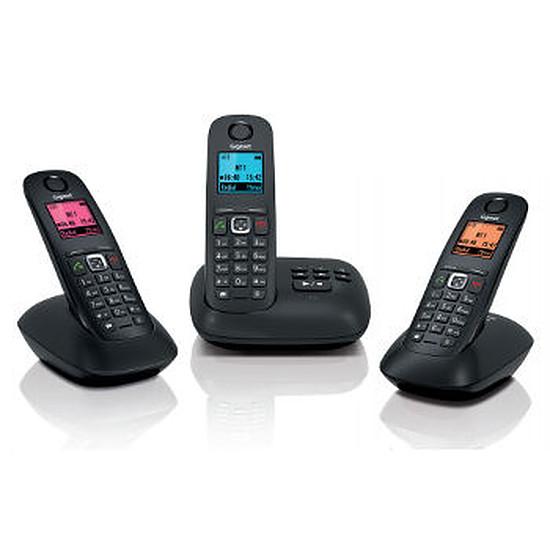 Téléphone fixe sans fil Gigaset A540A Trio (noir)