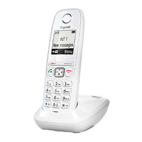 Téléphone fixe sans fil Gigaset AS405 (blanc)