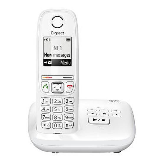 Téléphone fixe sans fil Gigaset AS405A (blanc)