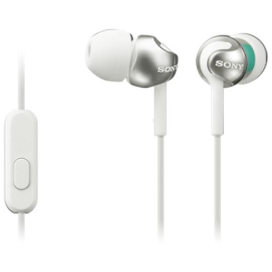 Casque Audio Sony MDR-EX110AP Blanc