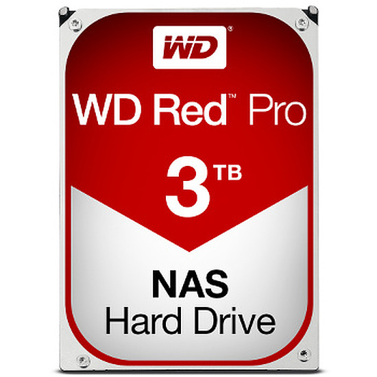 Disque dur interne Western Digital (WD) Red Pro - 3 To