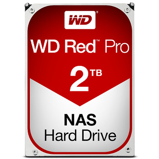 Disque dur interne Western Digital (WD) Red Pro - 2 To