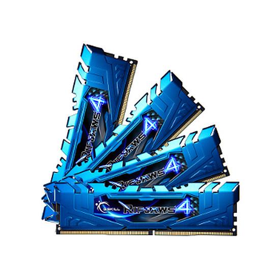 Mémoire G.Skill Ripjaws 4 Blue DDR4 4 x 4 Go 2133 MHz CAS 15