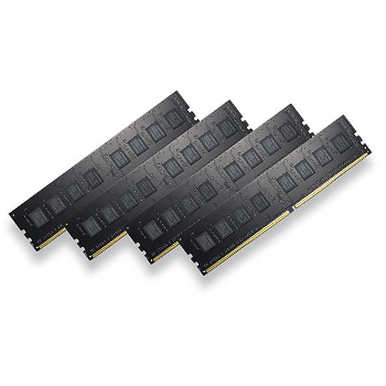 Mémoire G.Skill Value NT DDR4 4 x 4 Go 2400 MHz CAS 15