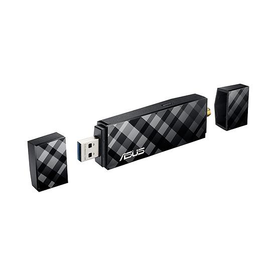 Carte réseau Asus USB-AC56 - Clé USB WiFi AC1300 double bande  - Autre vue