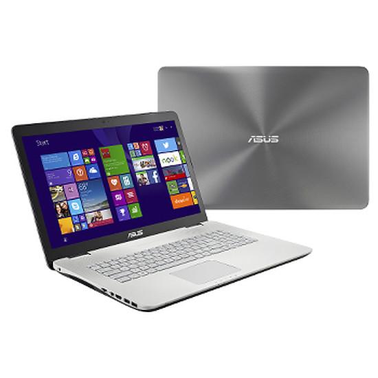PC portable Asus N751JK-T4200H - i7 - 512 Go SSD - GTX850M - FullHD