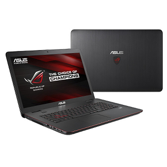 PC portable Asus ROG G741JM-T4046H - i7 - SSD - GTX860M - Full HD