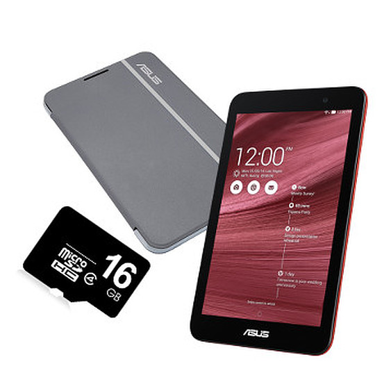 Tablette Asus Pack MeMo Pad 7 - IPS - ME176CX-1C049A - Rouge