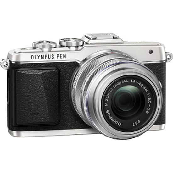 Appareil photo hybride Olympus PEN E-PL7 + 14-42 mm Silver