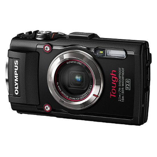 Appareil photo compact ou bridge Olympus Tough TG-3 Noir