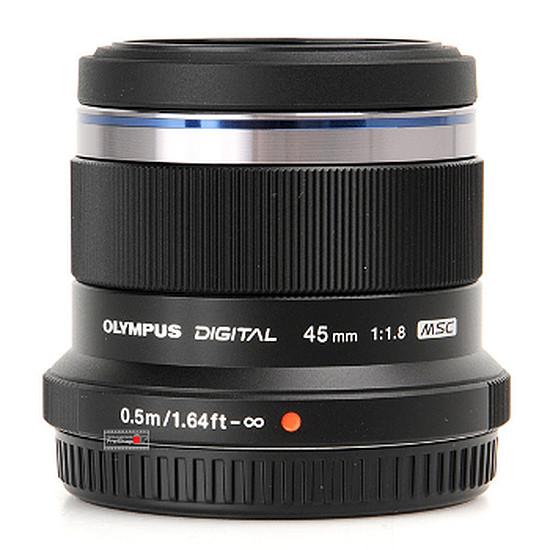 Objectif pour appareil photo Olympus M. Zuiko Digital ED 45 mm f/1.8 Noir