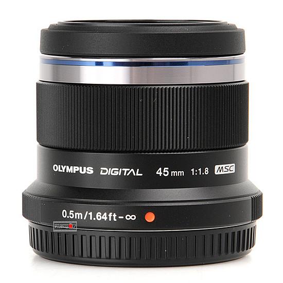 Objectif pour appareil photo Olympus M. Zuiko Digital ED 45 mm f/1.8 Noir - Autre vue