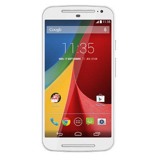 Smartphone et téléphone mobile Motorola Moto G 2ème génération - (blanc)