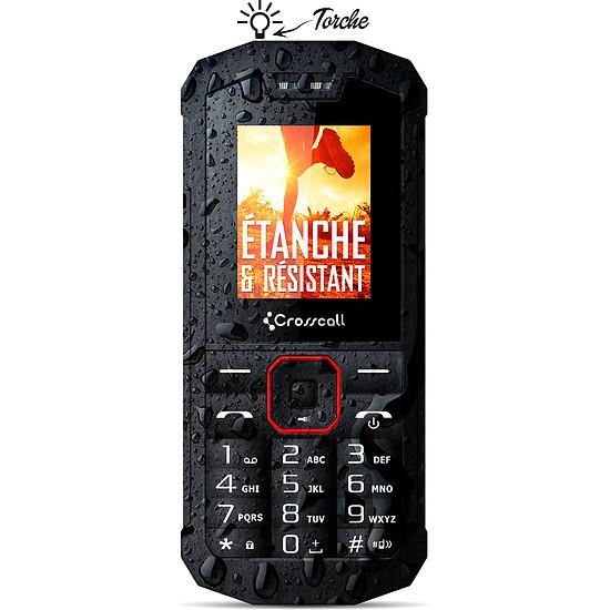 Smartphone et téléphone mobile Crosscall Spider X1 (noir) - Autre vue