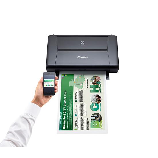Imprimante jet d'encre Canon PIXMA iP110 + Batterie - Autre vue