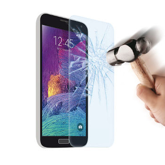 Protection d'écran Muvit Film en verre trempé - Galaxy Note 4