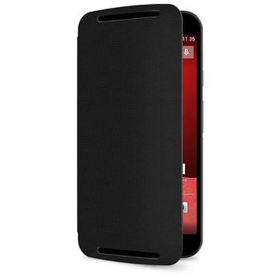 Coque et housse Motorola Etui Flip Cover (noir) - Moto G 2ème génération