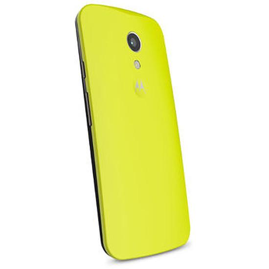Coque et housse Motorola Coque color (jaune) - Moto G 2ème génération