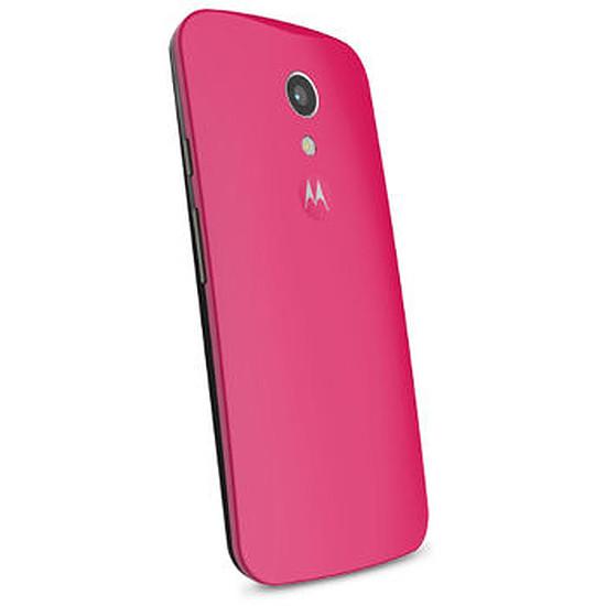 Coque et housse Motorola Coque color (rose) - Moto G 2ème génération
