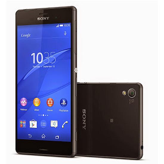 Smartphone et téléphone mobile Sony Mobile Xperia Z3 (noir)