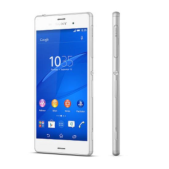 Smartphone et téléphone mobile Sony Mobile Xperia Z3 (blanc)