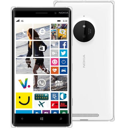 Smartphone et téléphone mobile Nokia Lumia 830 (blanc)