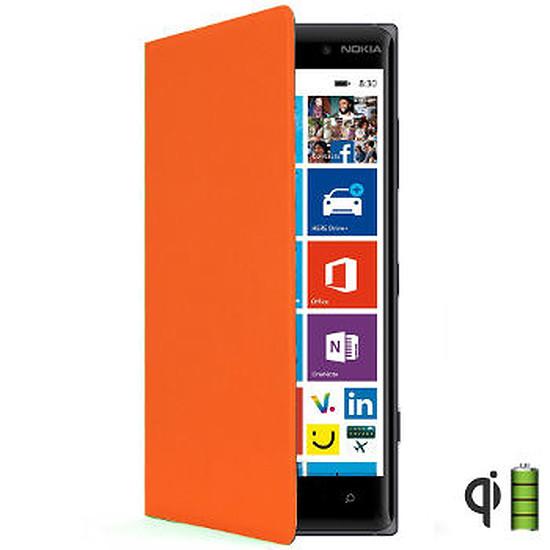 Coque et housse Nokia Etui folio (orange) - Lumia 830
