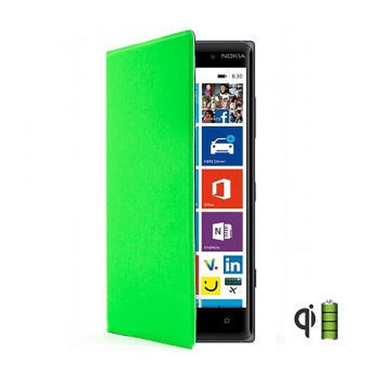 Coque et housse Nokia Etui folio (vert) - Lumia 830