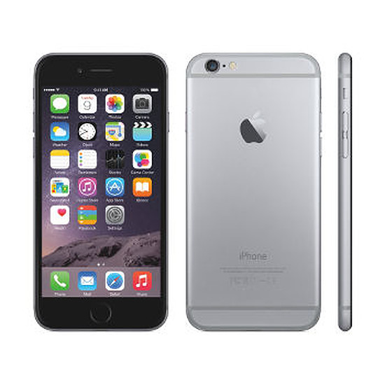 Smartphone et téléphone mobile Apple iPhone 6 (gris sidéral) - 64 Go