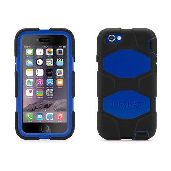 Coque et housse Griffin Coque Survivor All Terrain (noir/bleu) - iPhone 6s