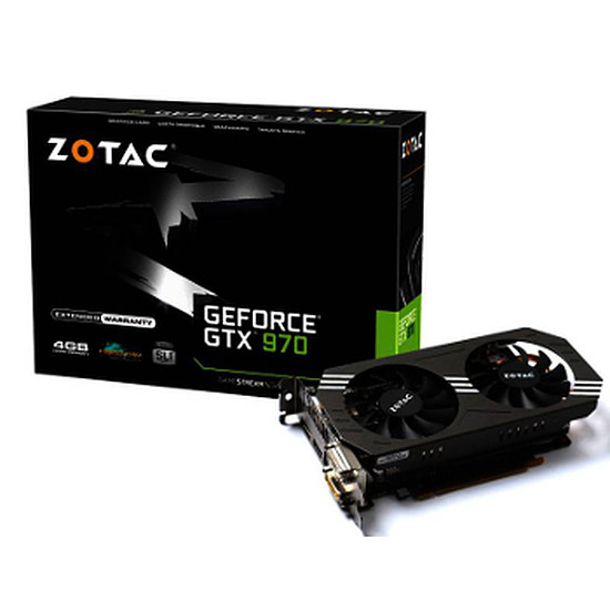 Carte graphique Zotac GeForce GTX 970 - 4 Go