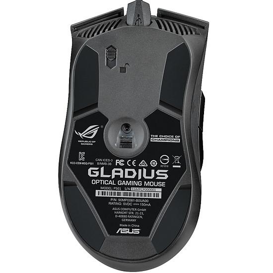 Souris PC Asus ROG Gladius - Autre vue