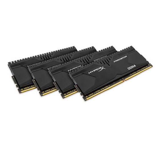 Mémoire Kingston HyperX Predator DDR4 4 x 4 Go 3000 MHz CAS 15