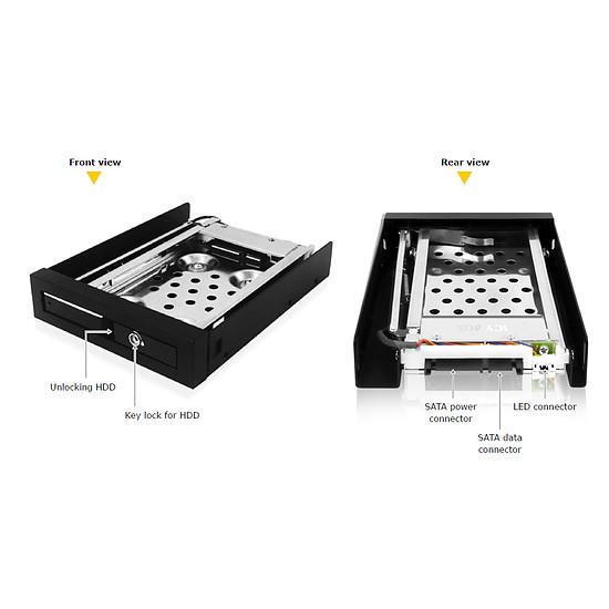 """Rack disque dur interne Icy Box Rack 2,5"""" pour disque dur SATA  - IB-2217StS - Autre vue"""