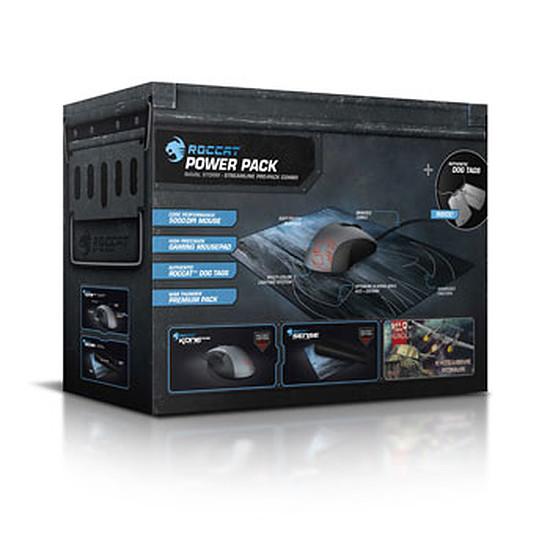 Souris PC Roccat Pack Kone Pure + tapis Sense Naval Storm