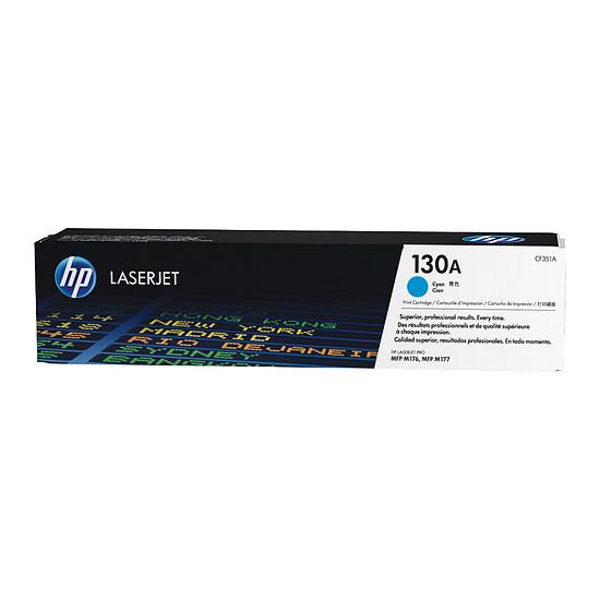 Toner imprimante HP 130A - CF351A Cyan